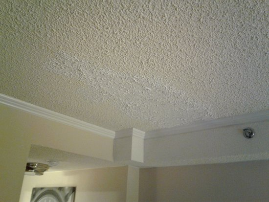 Sheraton Pentagon City Hotel: Patched ceiling