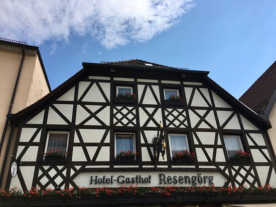 Ebermannstadt, Germany: Beautiful local woodwork