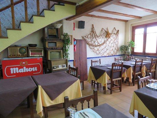 Bolulla, Spain: Restaurant Can Pinet