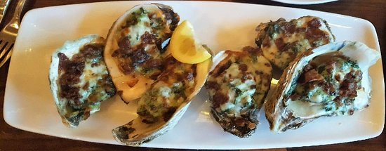 Clear Sky on Cleveland : Oysters Rockefeller special