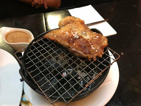 Pastis: Grilled chicken