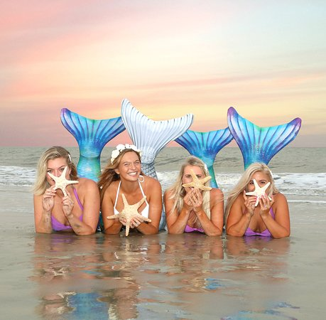 Mermaid of Hilton Head: Become mermaids for your bachelorette party in Hilton Head