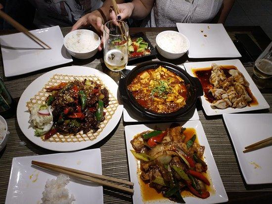 Restaurante de Sichuan ภาพถ่าย