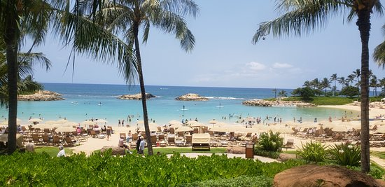 Aulani, A Disney Resort & Spa: one of the 4 lanais available for use