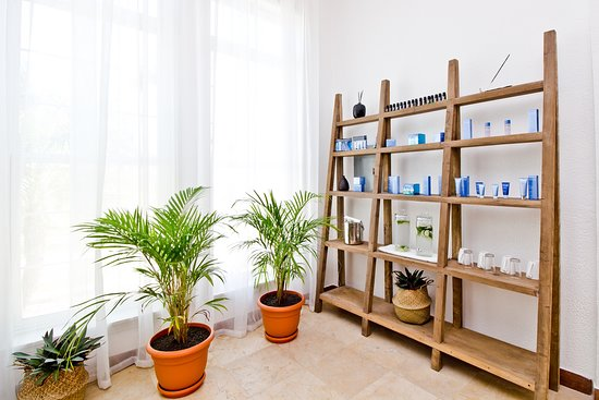 K'IN Spa & Wellness Center: Phytomer Products are algae-based products from France