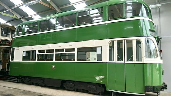 Crich Tramway Village : Fantastic Old Trams, enjoyable day out for families.