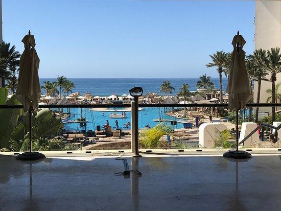 Hyatt Ziva Los Cabos: View from the Lobby