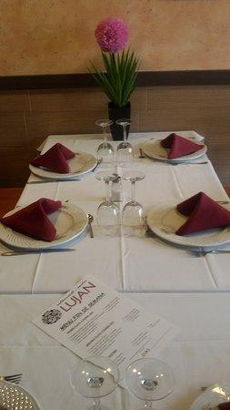 Torralba de Calatrava, إسبانيا: Restaurante-Asador LUJAN