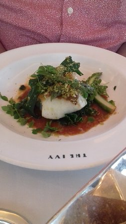 The Ivy : Baked Cod