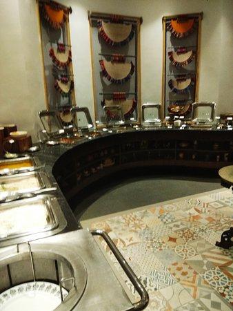 6 Ballygunge Place: buffet