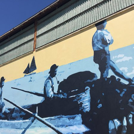 Porto Turistico di Civitanova Marche: Porto & murales