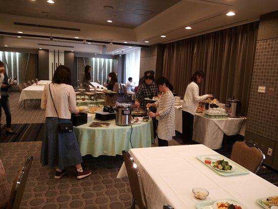 Hotel Keihan Kyoto Grande: beaucoup de choix pour le petit déjeuner