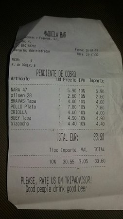 Maquila Bar – fénykép
