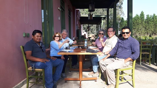 Tacama Winery for lunch and pisco