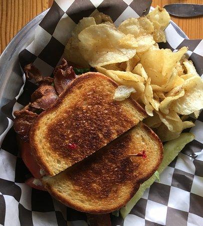 Boulder Junction, WI: Delicious BLT Sandwich