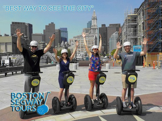 Boston Segway Tours: It has this reverse effect, making #kids feel like adults (finally 🤩), and adults feel like kid