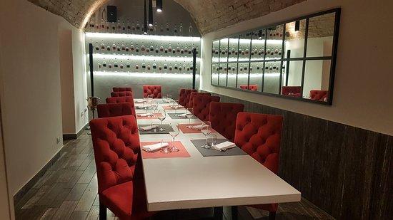 Casato Restaurant Wine Bar: una delle sale del ristorante