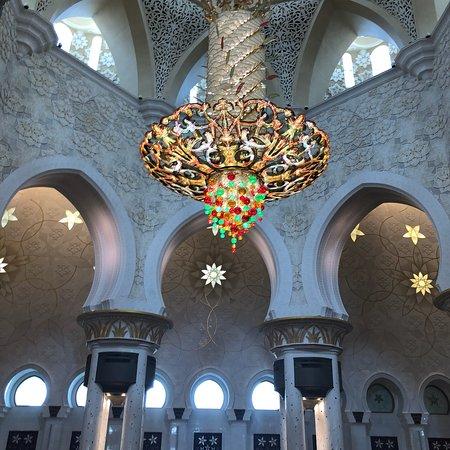 谢赫扎耶德大清真寺照片