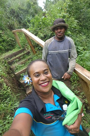 Go Local Fiji Transfers & Tours: Spokesman for Nabalasere village will be guiding you through