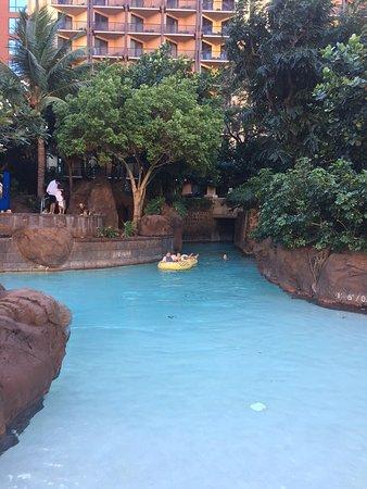 Aulani, A Disney Resort & Spa: lazy river