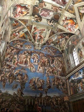 西斯廷教堂照片