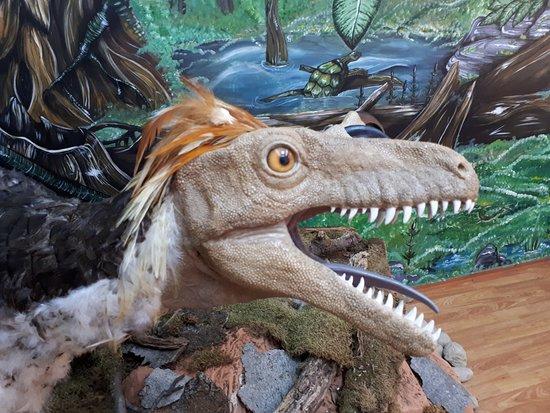 Hateg, Romania: Reconstruction of Balosaur
