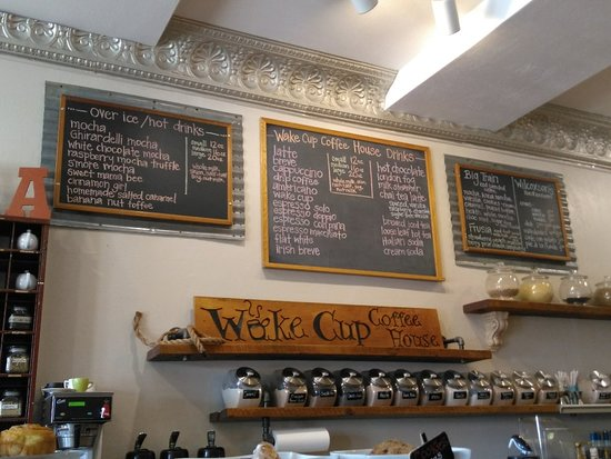 Fort Benton, MT: Wake Cup Coffee House