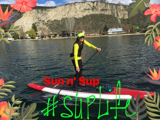 Sun n' Sup: Early spring paddling, need the booties still.