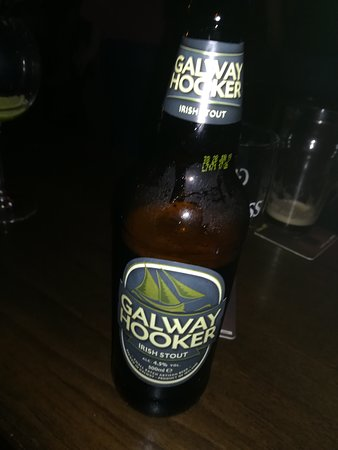 Taaffes Pub: Galway Hooker Irish Stout:-)