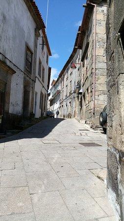 Judiaria da Guarda: Ruas da região judaica