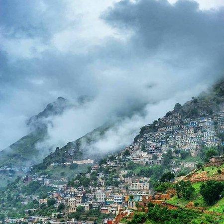 Kordestan Province, Iran: Hawraman Village