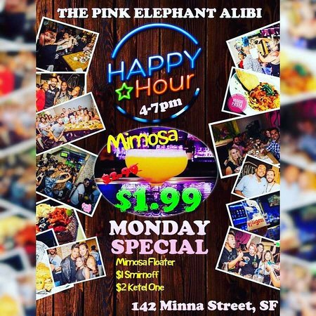 The Pink Elephant Alibi