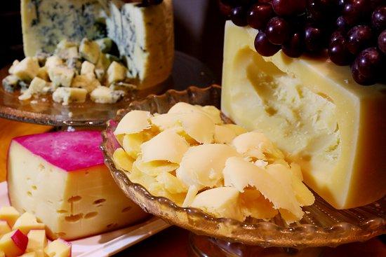 Ristorante Benedetto: Queijos especiais em nossa mesa