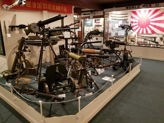 Louisiana Military Museum: Guns