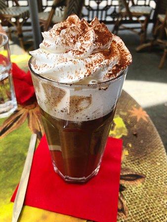 Cafe Frei Wien: Iced Spiced Mocha