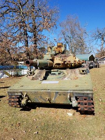 Louisiana Military Museum: Tank