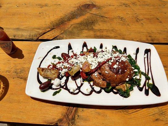 Quandary Grille: Portobello appetizer