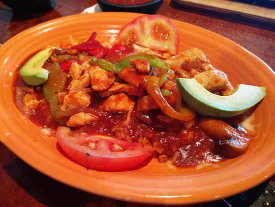Rancho Rustico: Mexican shrimp dish - very good!