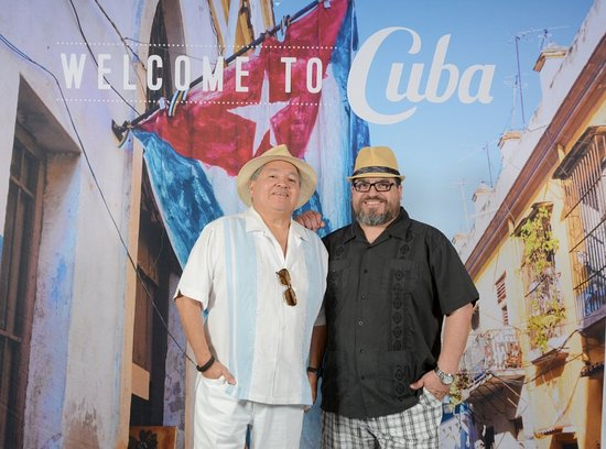 Buena Vista Social Club: Enjoying Cuban life listening to live music and great Cuban food and drinks. Olivares family from Houston, Texas