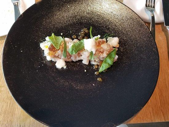 Ristorante Viva: fish tartar