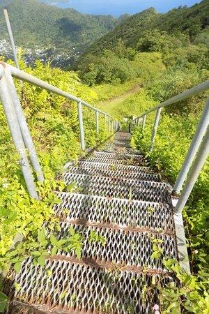 Mount Alava: Staircase at Summit