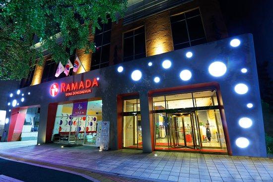 Ramada Seoul Dongdaemun : 호텔 정문