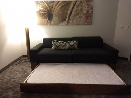SpringHill Suites by Marriott Pigeon Forge: Large trundle sleeper sofa