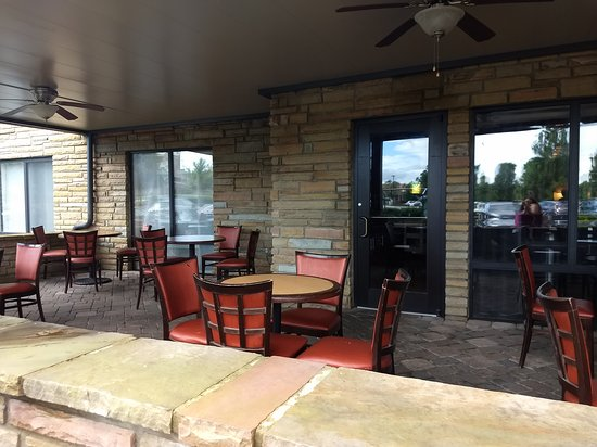 SpringHill Suites by Marriott Pigeon Forge: Outside breakfast Area