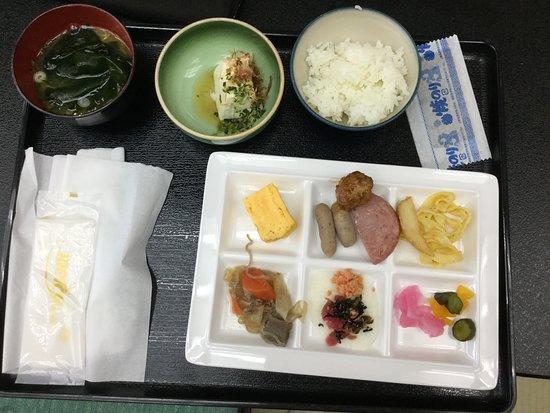 Hachijo View Hotel: ビュッフェ朝食