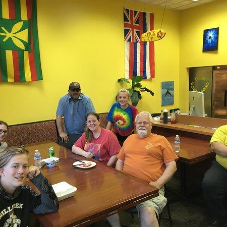 Woods Cross, UT: Hungry Hawaiian Restaurant in Bountiful Utah.   Aloha !!!
