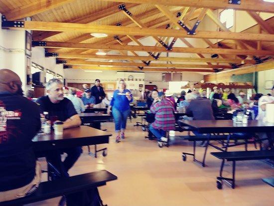 Cumbres & Toltec Scenic Railroad: Ossier cafeteria