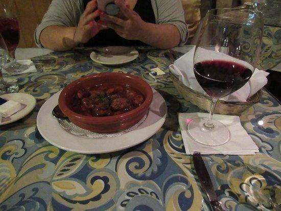 Amalia Cafe: Chorizo