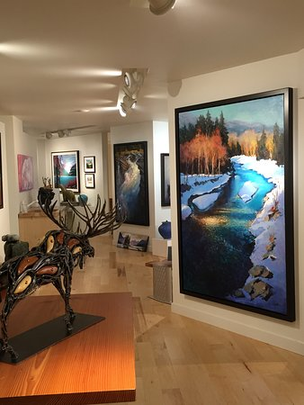 Mountain Galleries Fairmont Jasper Park Lodge张图片