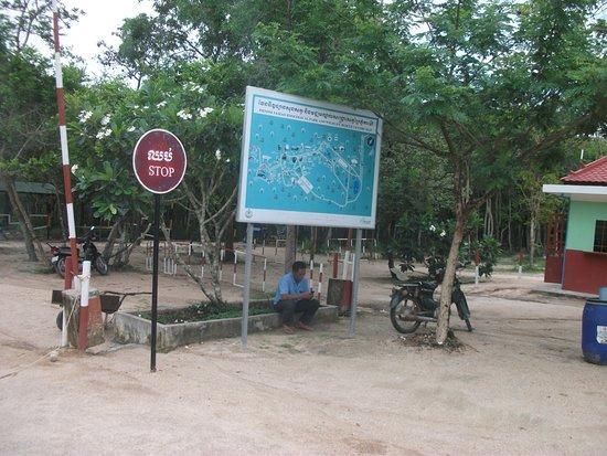 Phnom Tamao Wildlife Rescue Center: Entrance